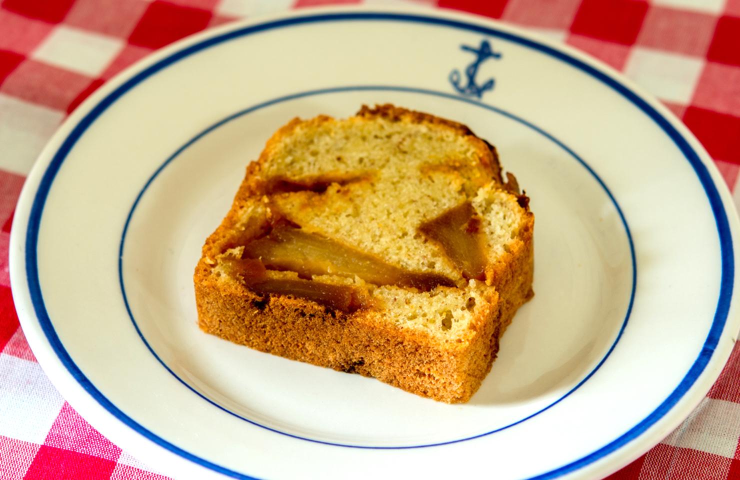 キャラメル林檎ケーキ