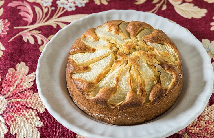 洋梨ケーキ